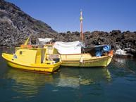 Treffen von Fischern in der Bucht von Palia Kameni (c) Tobias Schorr