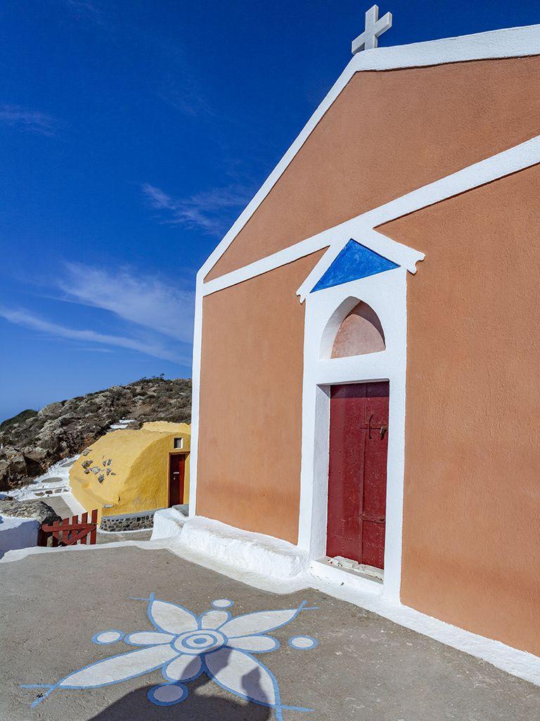 Die Kapelle Zoodohos Pigis bei Ia. (c) Tobias Schorr