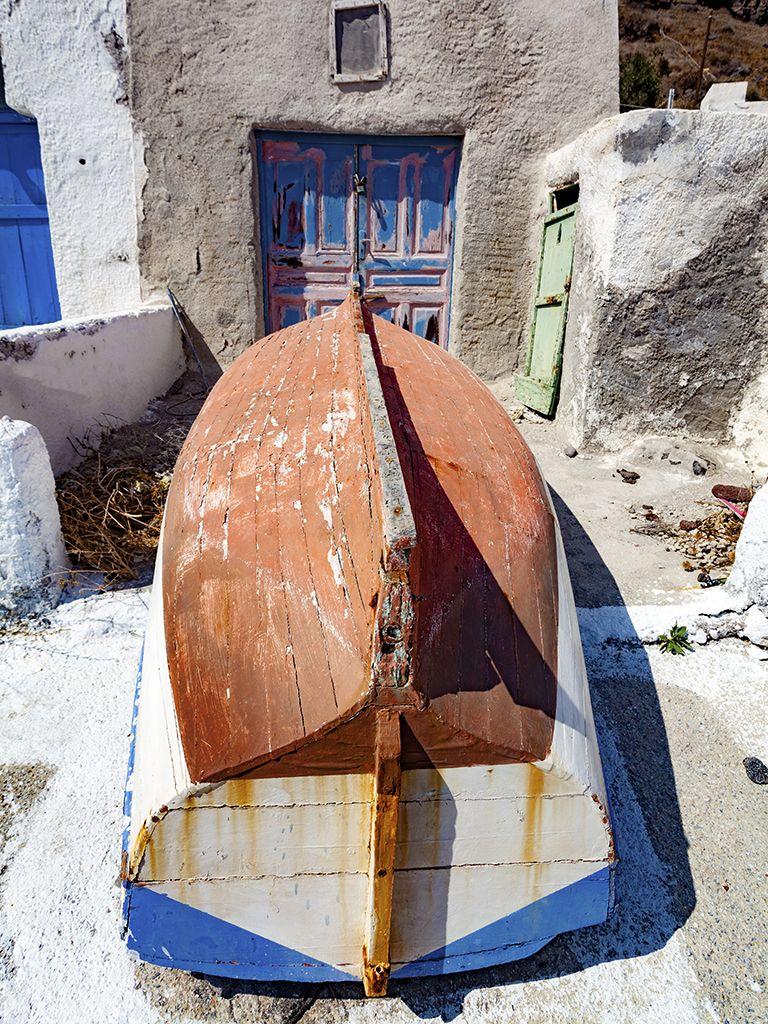 Bootsschuppen auf Thirasia. (c) Tobias Schorr