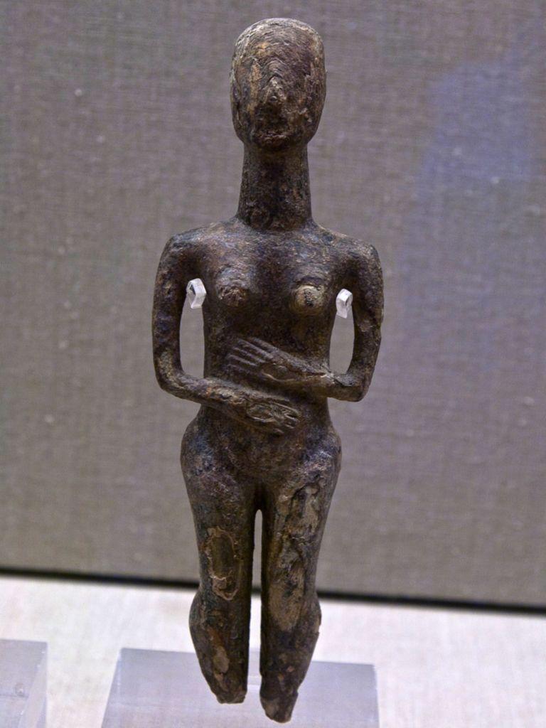 Prähistorisches Idol aus Santorin (c) Tobias Schorr