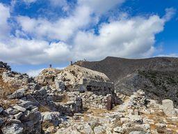 Blick auf die Kapelle Agios Stefanos. (c) Tobias Schorr