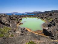 An dieser Stelle gab es 1700 einen Vulkanausbruch, der Asche bis nach Kleinasien schaffte. (c) Tobias Schorr