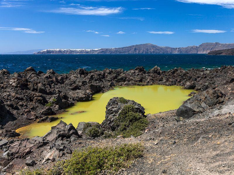 Der Kratersee der Eruption von 726 n.Chr. (c) Tobias Schorr
