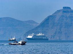 Schiffe in der Umgebung des Orts, wo die Sea Diamond sank. (c) Tobias Schorr