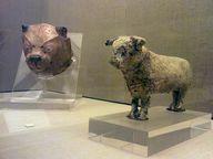 Tierfiguren aus den Ausgrabungen von Akrotiri